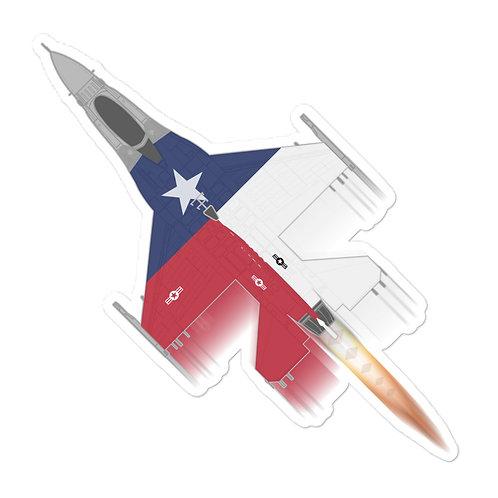 UNOFFICIAL USAF 457FS F-16C TEXAS SPAD FULL SEND STICKER