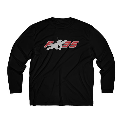 F-35 Men's Long Sleeve Sport Tee