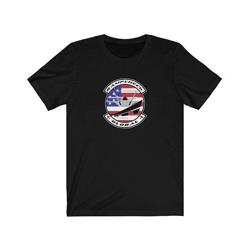 OFFICIAL RAMPCHECK GLOBAL LOGO FRONT PRINT Unisex Short Sleeve T-Shirt