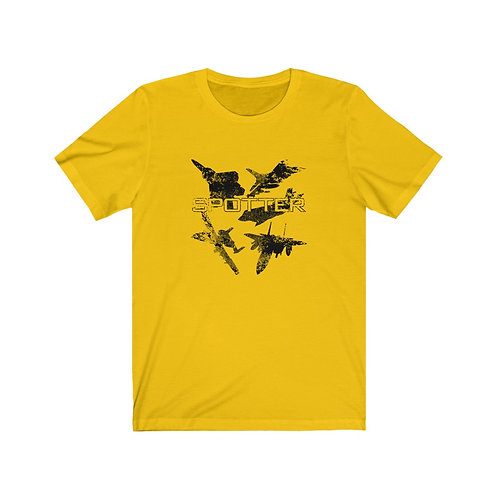 USAF FIGHTER AND ATTACK SPOTTER Unisex Short Sleeve T-shirt