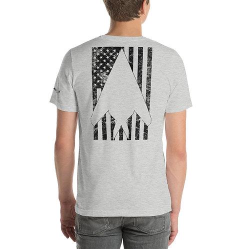 F-117 STEALTH USA FLAG Unisex T-Shirt