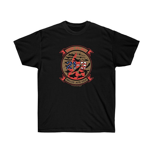 UNOFFICIAL RED FLAG 21-3 Front Print Heavyweight T-shirt
