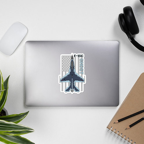 F-16C GHOST USA STICKER