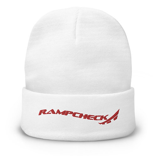 RAMPCHECK WAVE LOGO Embroidered Beanie