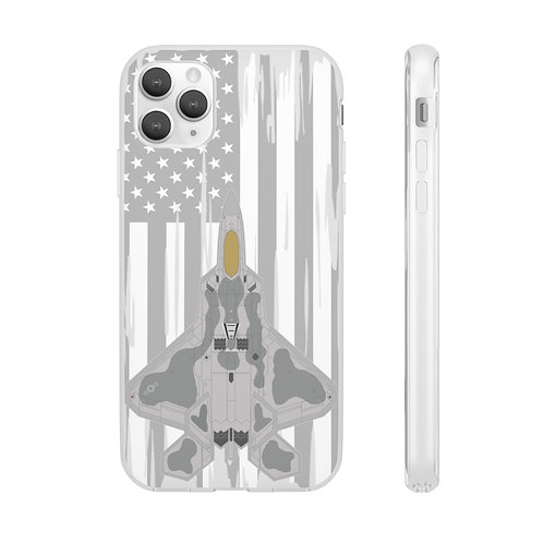 F-22A RAPTOR USA Flexi Phone Case