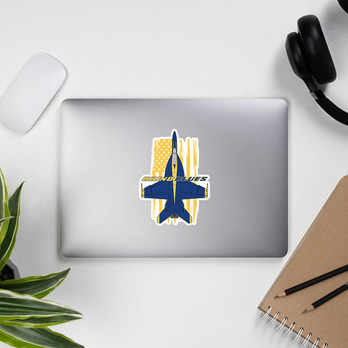 UNOFFICIAL USN BLUE ANGELS F/A-18E RHINO BLUES USA Sticker