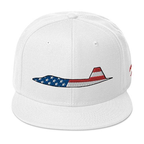 F-22 RAPTOR USA SIDE PROFILE Snapback Hat