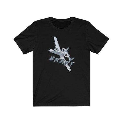 A-10 THUNDERBOLT II BRRRT Unisex Short Sleeve T-Shirt
