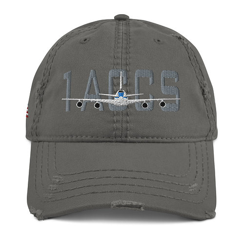 E-4 NIGHTWATCH 1ACCS USA Distressed Hat