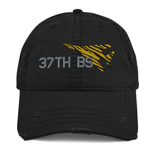 UNOFFICIAL USAF 37TH BS B-1B TIGER Distressed Hat
