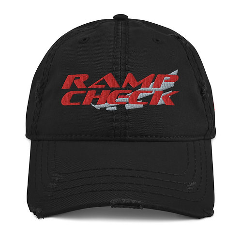 RAMPCHECK LOGO Distressed Hat
