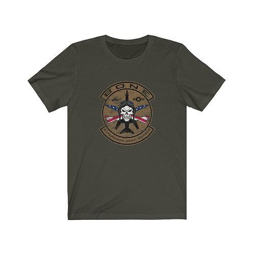 SKULL & CROSS BONES SUPERSONIC HEAVY BOMBER USA Unisex T-Shirt