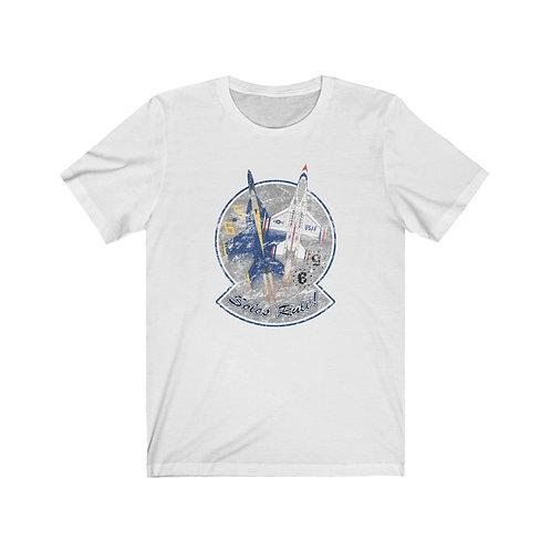 UNOFFICIAL SOLOS RULE! BLUE ANGELS THUNDERBIRDS 5 & 6 DISTR PRINT Unisex T-Shirt