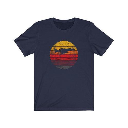 AV-8 DISTRESSED RETRO SUNSET Unisex T-Shirt