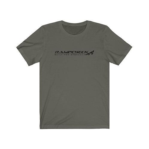 RAMPCHECK BUILT FOR AVGEEKS DISTRESSED PRINT LOGO Lightweight T-shirt