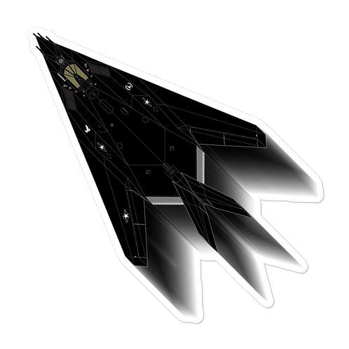 UNOFFICIAL USAF F-117A FULL SEND STICKER