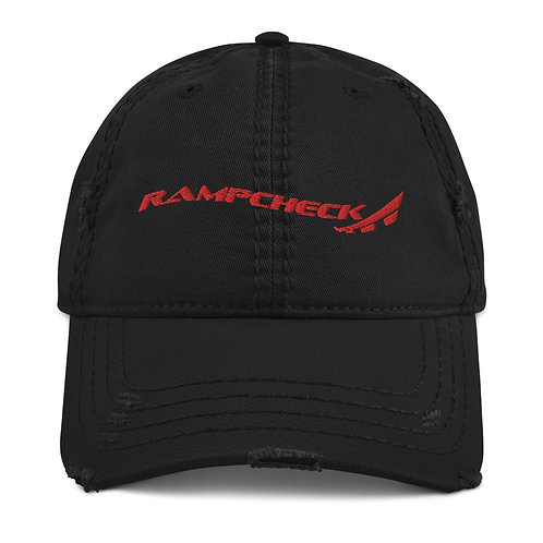 RAMPCHECK LOGO WAVE Distressed Hat