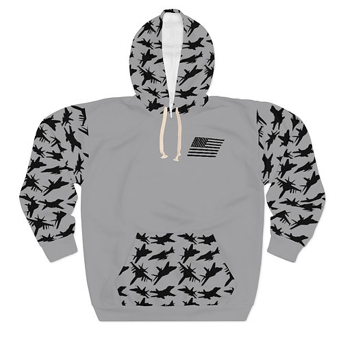 USN USMC FIGHTER & ATTACK PATTERN Unisex Pullover Hoodie