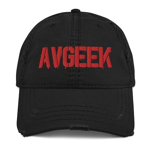 AVGEEK Distressed Hat