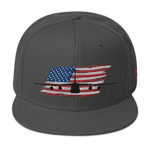 C-5 GALAXY USA Snapback Hat