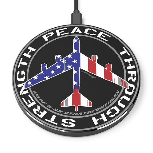 USA B-52 PEACE THROUGH STRENGTH Wireless Charger