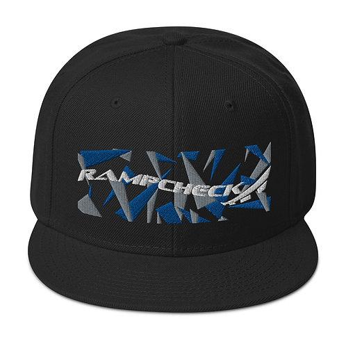 RAMPCHECK WAVE LOGO SPLINTER CAMO Snapback Hat