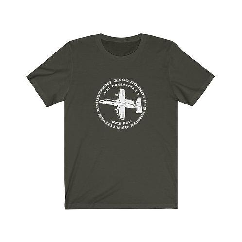 A-10 3,900 RPM OF ATTITUDE ADJUSTMENT Lightweight T-shirt