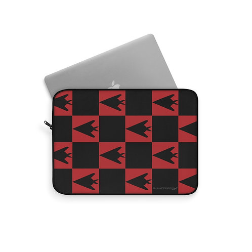 F-117 NIGHTHAWK CHECKERBOARD Laptop Sleeve