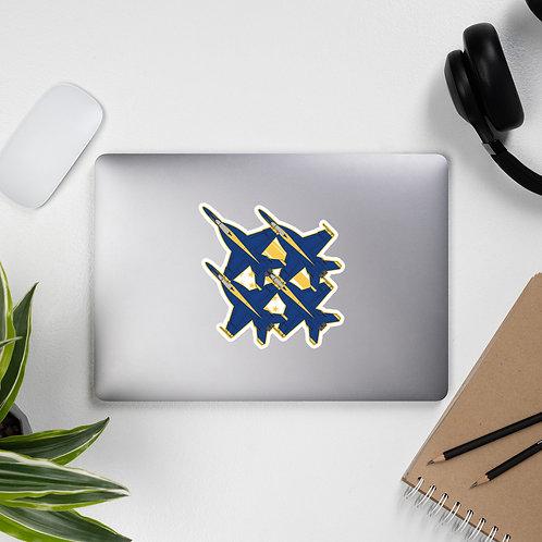 UNOFFICIAL USN BLUE ANGELS SUPER HORNET DIAMOND USA Sticker