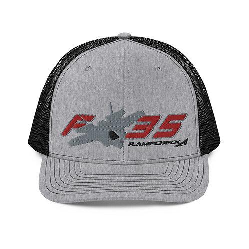 F-35 RAMPCHECK Trucker Cap
