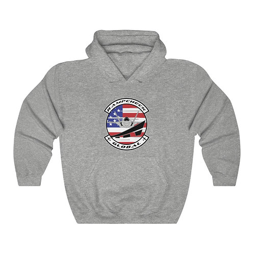 OFFICIAL RAMPCHECK GLOBAL LOGO Unisex Heavy Blend Hoodie