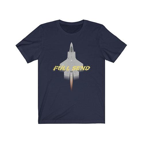 UNOFFICIAL USAF F-35A LIGHTNING II FULL SEND Lightweight T-shirt