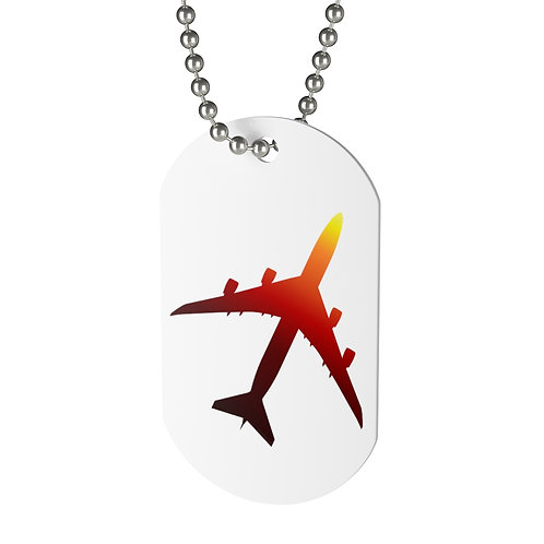747-8 SUNSET Dog Tag