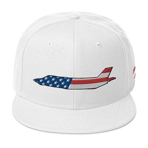 F-35 LIGHTNING II USA SIDE PROFILE Snapback Hat