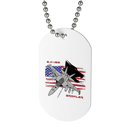 EA-18G GROWLER USA Dog Tag