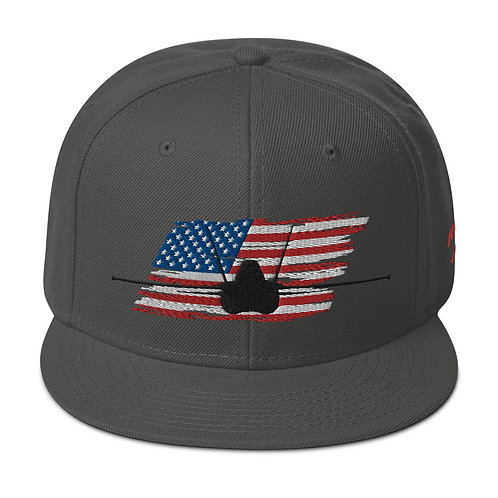 F/A-18 LEGACY HORNET USA Snapback Hat