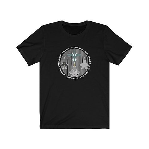 UNOFFICIAL 2020 USAF ACC DEMO TEAMS USA Unisex Short Sleeve T-Shirt