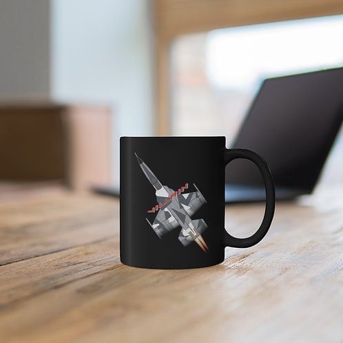 F-5 VILLAIN ARCTIC SPLINTER AGGRESSOR FULL SEND 11oz Black Mug