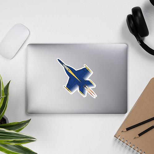 UNOFFICIAL USN BLUE ANGELS F/A-18E SUPER HORNET FULL SEND Sticker
