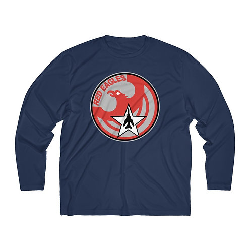 UNOFFICIAL USAF RED EAGLES MIG-23 FLOGGER Men's Long Sleeve Sport Tee