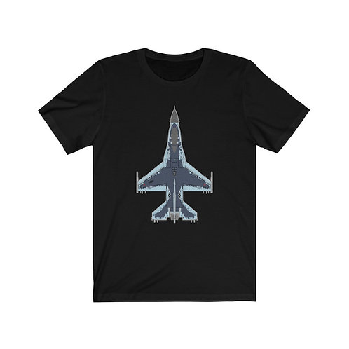 UNOFFICIAL USAF F-16C GHOST 64 AGRS Unisex Short Sleeve T-Shirt