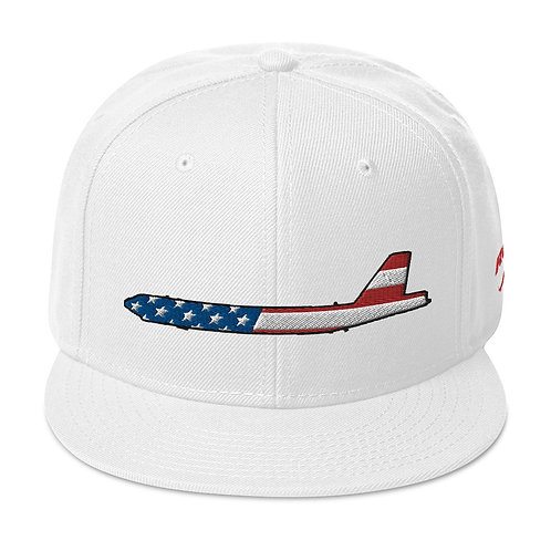 B-52 STRATOFORTRESS USA SIDE PROFILE Snapback Hat
