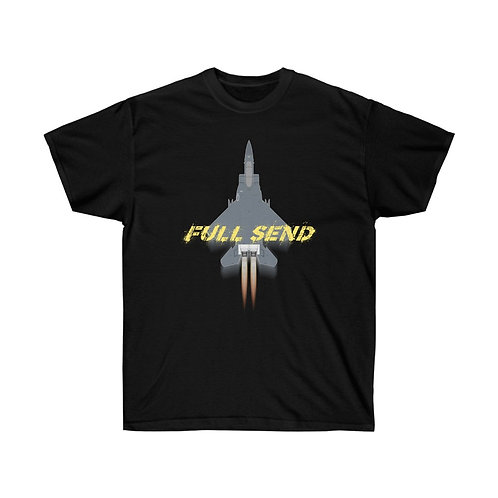UNOFFICIAL USAF F-15E STRIKE EAGLE FULL SEND Heavyweight T-shirt