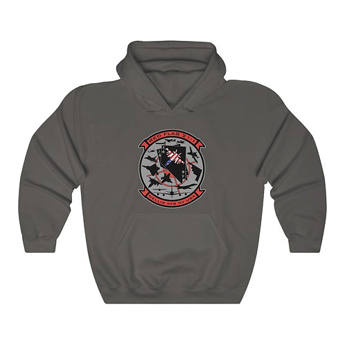 UNOFFICIAL NELLIS AFB RED FLAG 21-1 GROWLER USA Unisex Heavy Blend Hoodie