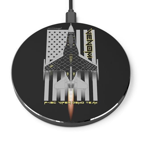 UNOFFICIAL USAF F-16C VIPER DEMO TEAM VENOM USA Wireless Charger