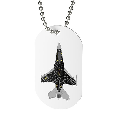 UNOFFICIAL F-16C VIPER DEMO TEAM VENOM Dog Tag