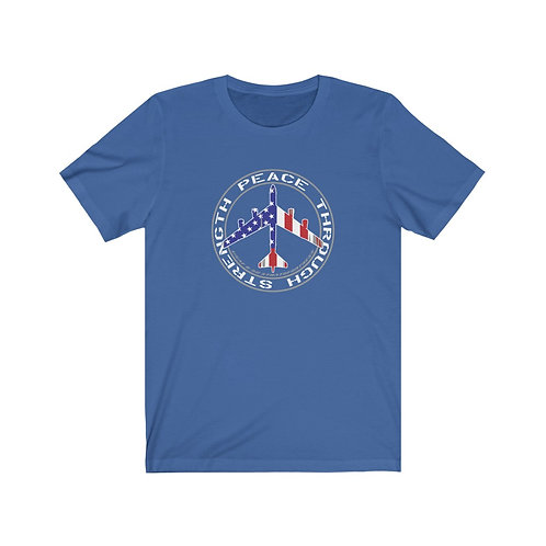 UNOFFICIAL USAF B-52 PEACE THROUGH STRENGTH USA Lightweight T-shirt