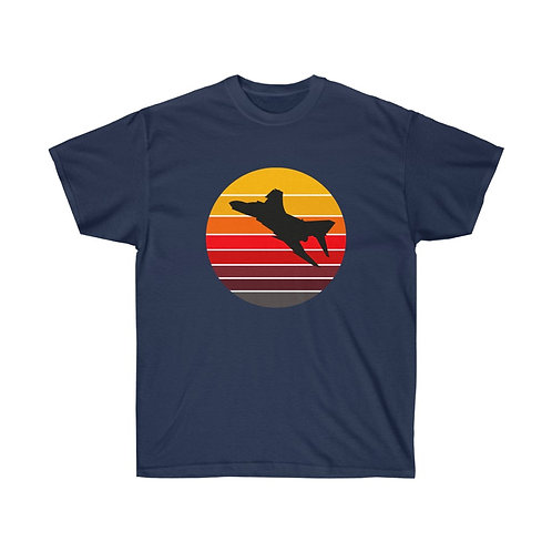 RETRO SUNSET F-4 Heavyweight T-shirt