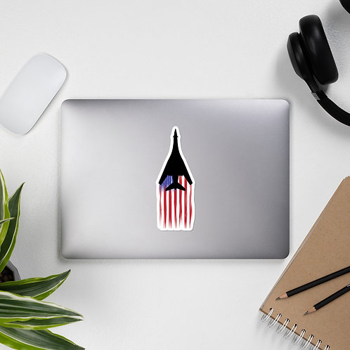 B-1B US FLAG FULL SEND STICKER
