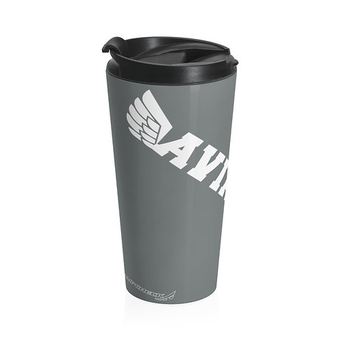 AVIATOR WINGS Stainless Steel Travel Mug
